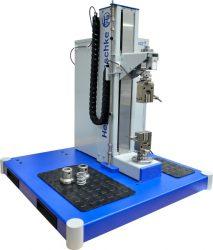 Rastezanje plastične epruvete ili kompresija opruga na Inspekt solo S (zaštitna vrata su opcija)